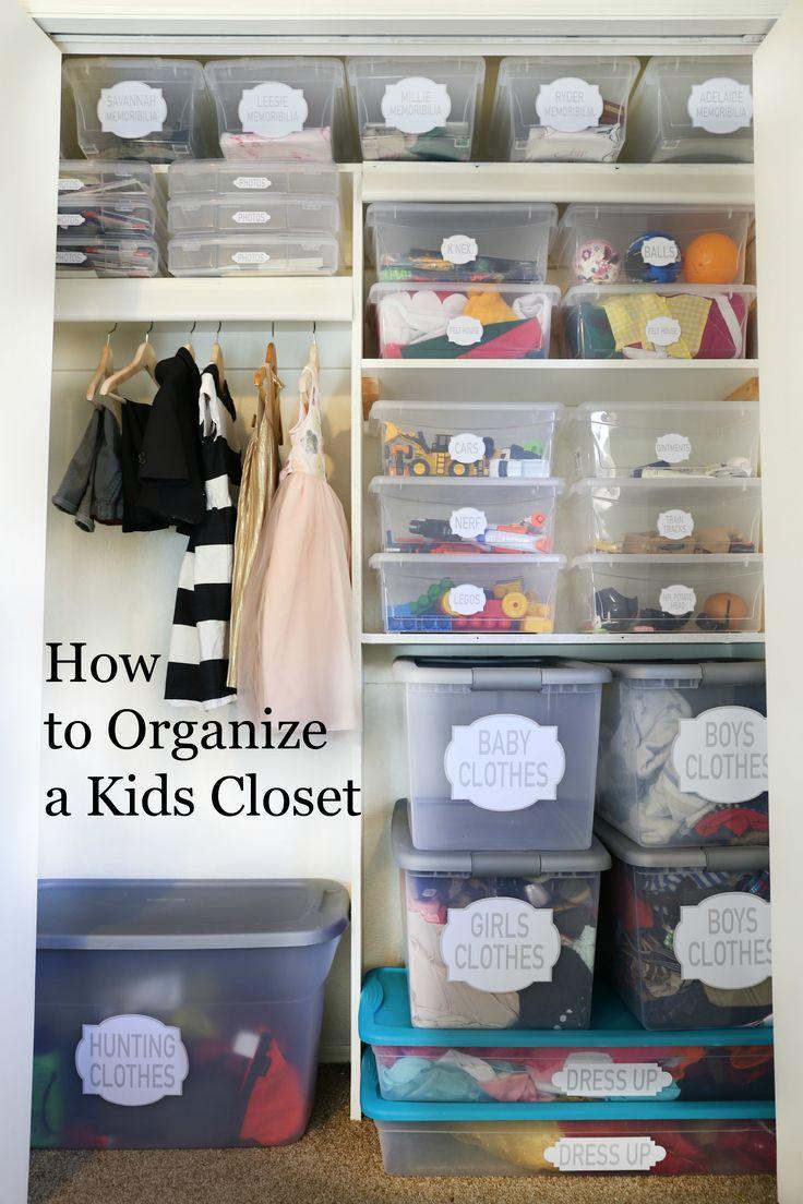 best 25 kid closet ideas on pinterest. Black Bedroom Furniture Sets. Home Design Ideas