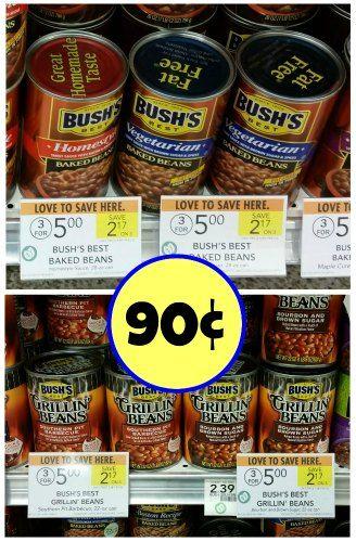 Bush's Best Baked or Grillin' Beans – Just 90¢ At Publix