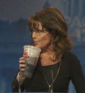 Sarah Palin Drink Big Gulp at CPAC 2013 | Wizbang