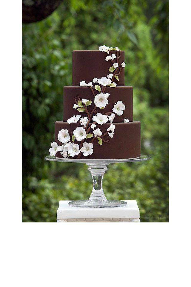Un gâteau au glaçage au chocolat