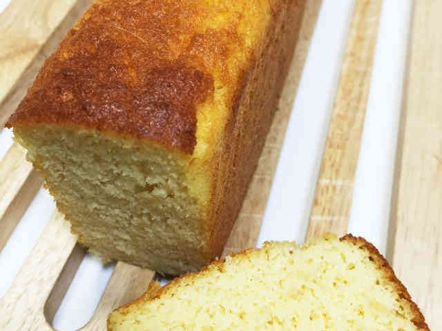 低糖質生おからのパウンドケーキの画像
