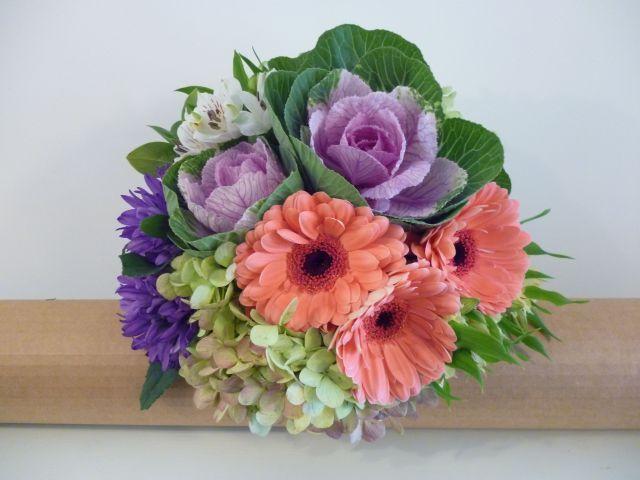 Gerbera & Hydrangea Bouquet