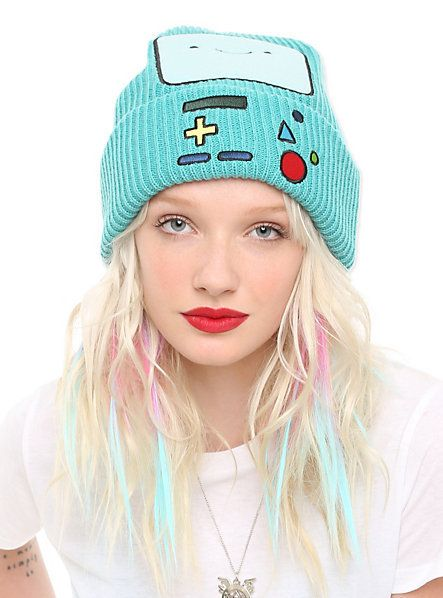 Adventure Time BMO Watchman Beanie | Hot Topic | I. Want. This. Hat.