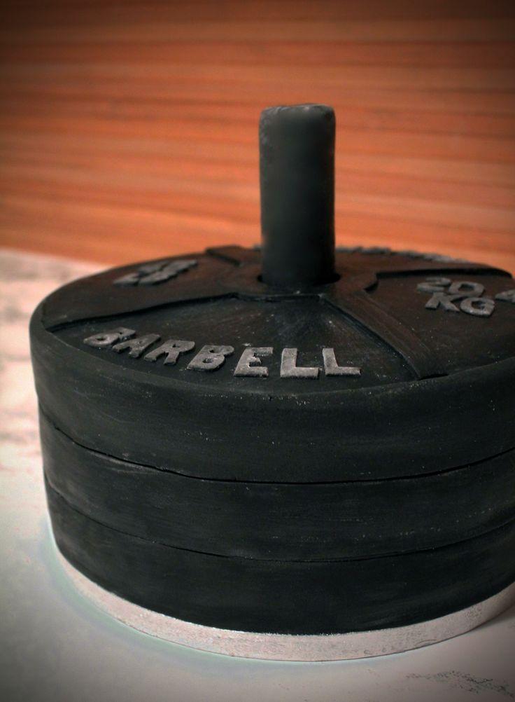 Barbell Cake www.sweetlittlebites.info
