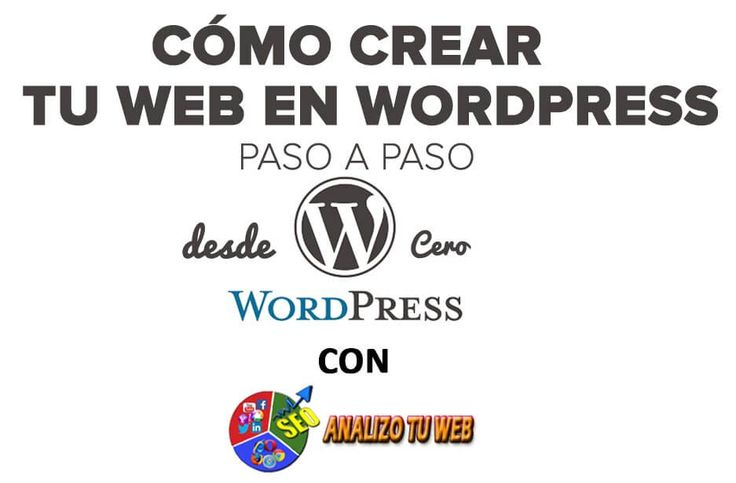 Cómo crear tu web en WordPress #AnalizoTuWeb http://blgs.co/7iExGC