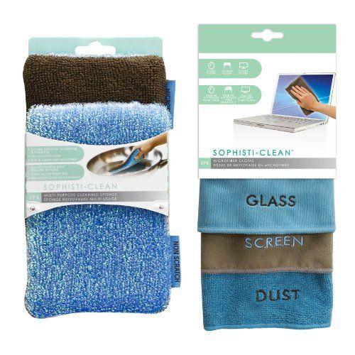 Sophisti Clean Microfiber Cloths