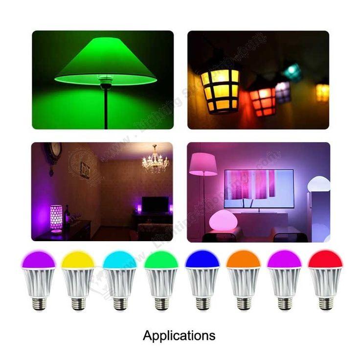 #WiFi #Smart #Light #Bulbs, 7W, #RGBW, AC85V-240V, #Wireless #LED #Globe Bulbs, supports Android & IOS System ----Applications>>> http://www.lightingshopping.com/rgbw-wifi-smart-light-bulbs-7w.html