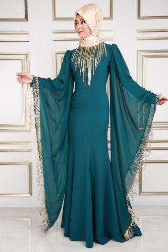 Aygen Kollari Pelerin Balik Abiye Asm2030 S Petrol Thumbnail Moda Stilleri Kiyafet Moda Kiyafetler