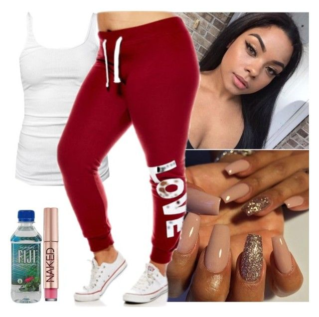 WorkOut by saucinonyou999 on Polyvore featuring polyvore, fashion, style, James Perse, Urban Decay and clothing