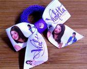 Elastico per capelli Violetta lilla con swarovski : Accessori per capelli di latipadeltappo