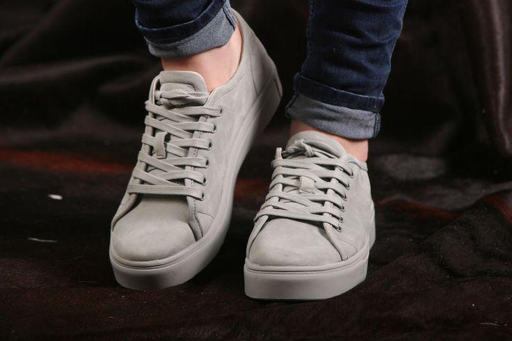Blackstone Sneaker- flacher, sehr leichter Damensneaker- NL33 Limestone