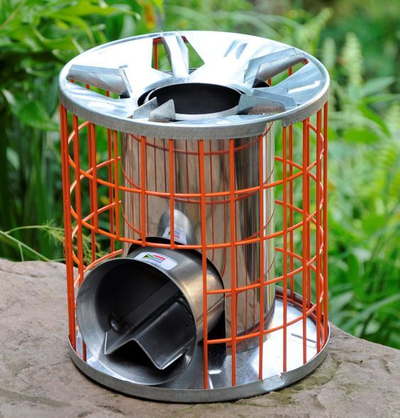Rocket Stove - most efficient in the world.