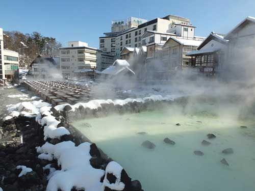 Kusatsu Onsen, Gunma Prefecture.