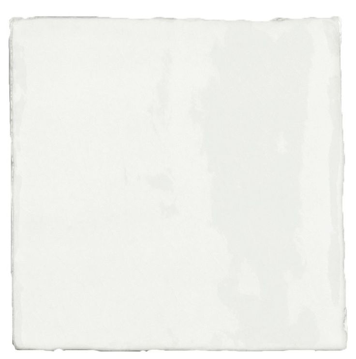 Carrelage mural ancien brillant blanc 10 x 10 cm for Carrelage blanc brillant