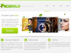 Picadilo. Nouvel éditeur photo en ligne gratuit particulièrement complet et facile à utiliser.