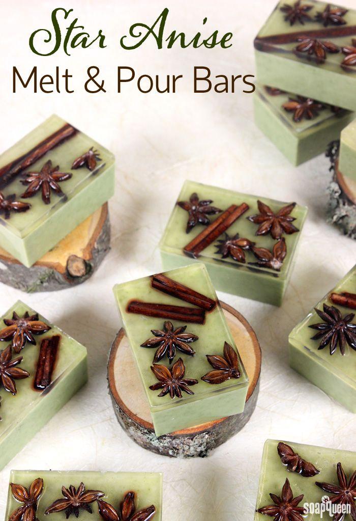 Star Anise Melt & Pour Bars