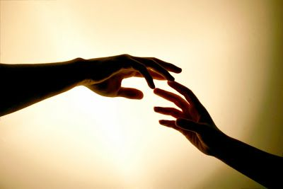 the power of the human touch.:)Did.G..