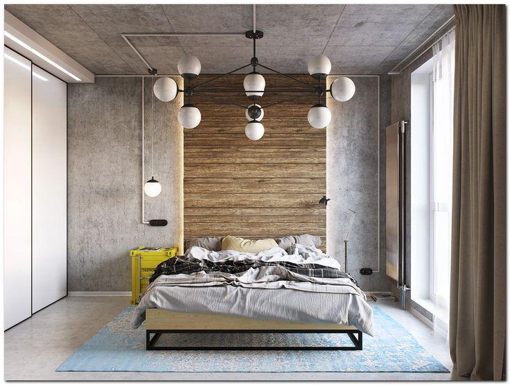 Industrial Bedroom Design Ideas Impressive Inspiration