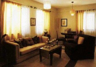 East Raya Gardens - 2-Bedroom Special Unit Living Room Area #manila #realEstate #condoForSale www.mymanilacondo.com/
