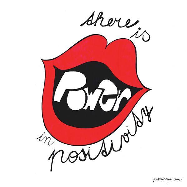 Be positive I petruccya.com