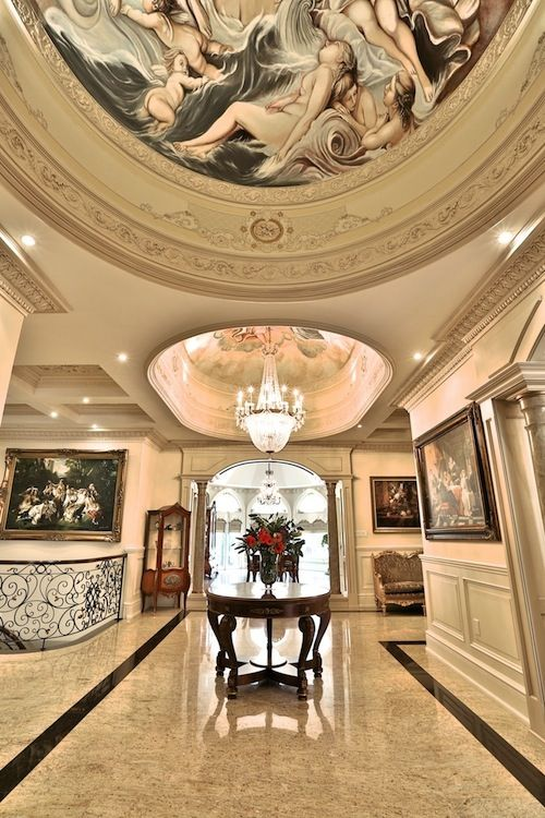 Luxury Mansion Foyer : Best images about luxury entrance foyer on pinterest