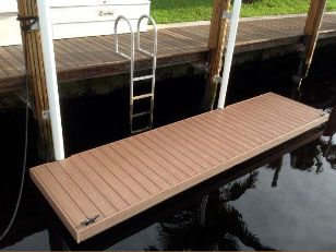 AccuDeck Enhancements for AccuDock Floating Docks!