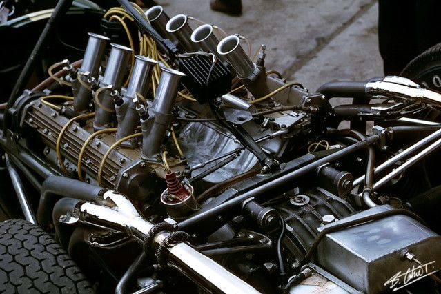 formula 1 engine blow