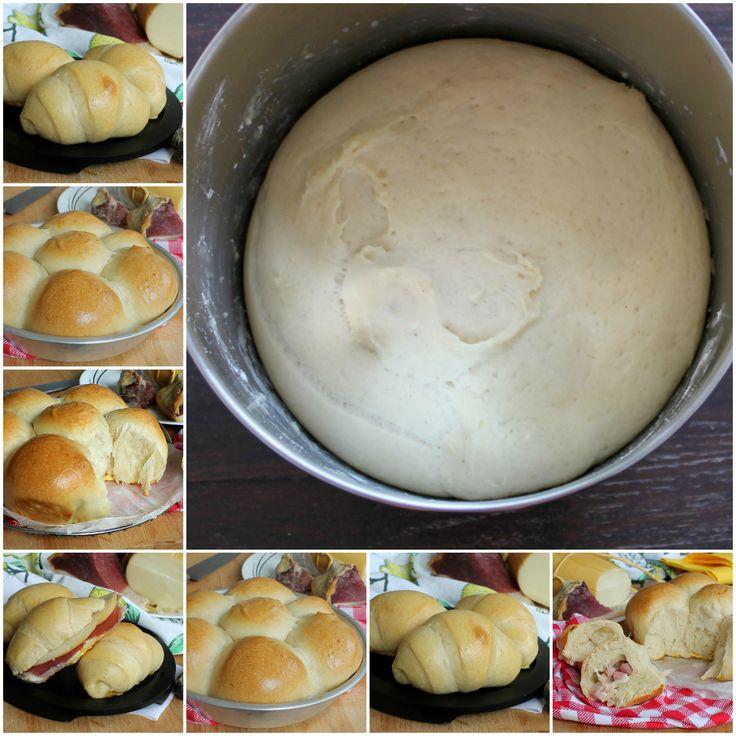 Pan brioche salato | Ricetta base