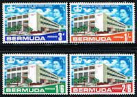 Bermuda #210-213 Stamps - Post Office Stamps - AT BER 210 to 213-1 MNH #postoffice #postal #bermuda #stamps #postagestamps #vintagestamps