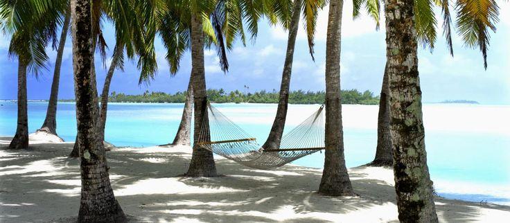 Afslapning på Cook Island