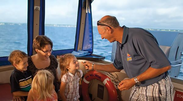 Learn all about lobster fishing from a local, then indulge in a mouth-watering lobster feast aboard the roomy Ambassador.