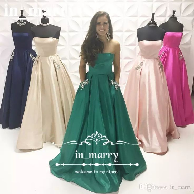 Plus Size Country Bridesmaids Dresses with Pockets 2017 A Line Strapless Long Satin Crystals Beaded Cheap Simple Girl Garden Maid Of Honors Cheap Bridesmaids Dresses 2017 Bridesmaids Dresses Plus Size Bridemadis Dresses Online with $148.58/Piece on In_marry's Store | DHgate.com