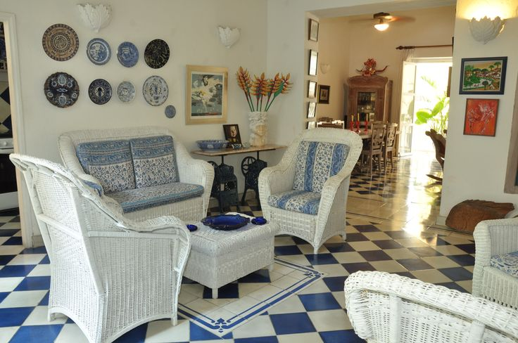 Casa La Mantilla. A beautiful home of an Italian star has a laid-back Mediterranean feel that will put you instantly at ease. Find more here: http://ticartagena.com/en/accommodation/colonial-houses/casa-la-mantilla/