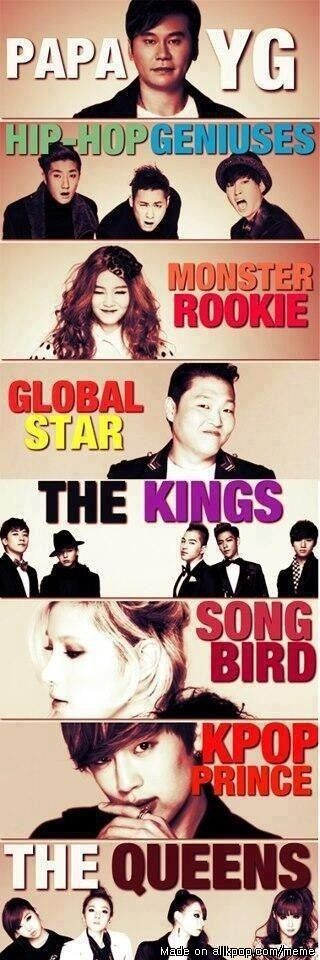 Good old YG family...miss them :(