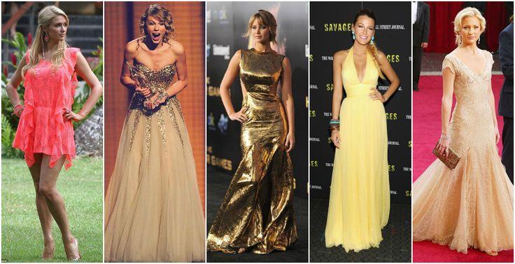 kolory jasnej wiosnyDELIKATNA (JASNA) WIOSNA Od lewej: Paris Hilton, Taylor Swift, Jennifer Lawrence, Blake Lively, Kate Hudson
