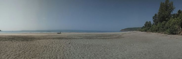 Panoramic view of Kolthare beach What to do around Maharashtra for a weekend! Pune, Maharashtra, Mumbai, India