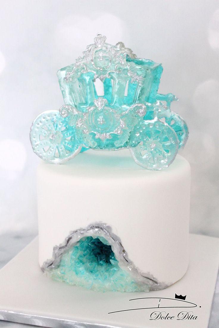 Dolce Dita   Cakes - Disney   Cake, Geode cake, Cake ...