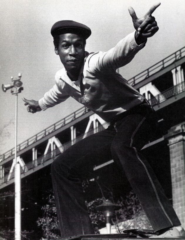 "Grandmaster Flash. Before there was Hip-Hop. Did one of my favorite tunes, ""White Lines"" (Don't Do It!).. G.."