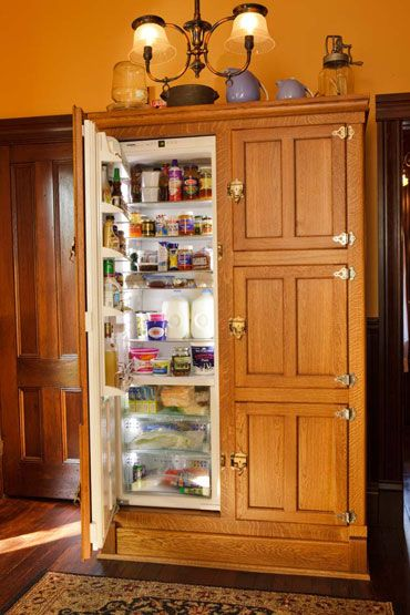 best 20 built in refrigerator ideas on pinterest cabinets to ceiling build in cupboards and. Black Bedroom Furniture Sets. Home Design Ideas