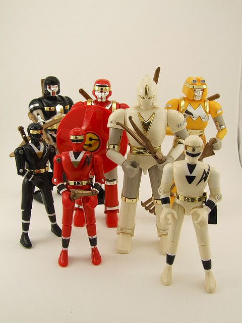 Alien Rangers Toys 44