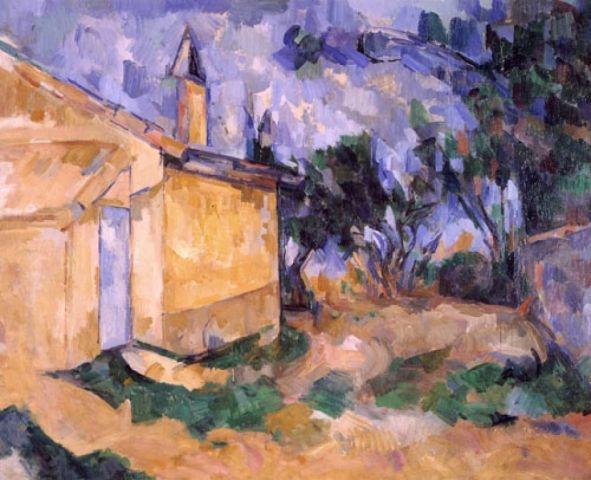 Cézanne, P., Le cabanon de Jourdan, 1906