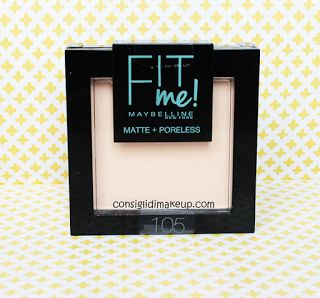 Cipria Fit Me MattePoreless  Maybelline