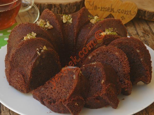 Yapımı oldukça basit, top kek tadında, yumuşacık bir kek tarifi...