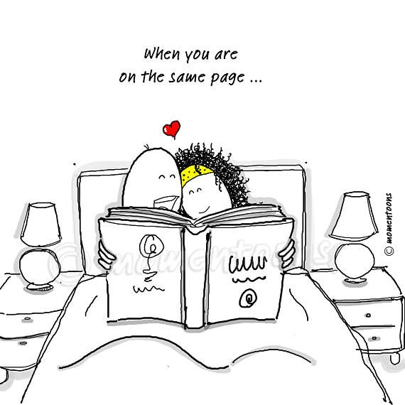 Love Print Art, Hand Drawn Illustration, Bedroom Illustration, Love Illustration, Caricature, Funny Cartoon, Humor Poster, Funny Print