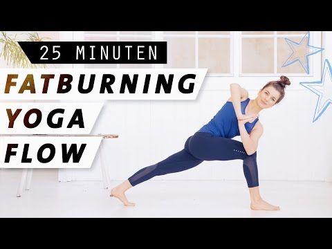 Fatburning Yoga Flow | Intensives Ganzkörperworkout | Fett verbrennen & Stoffwe… – Ani Can