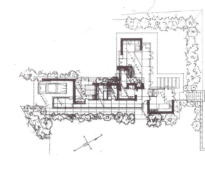 17 best images about usonian on pinterest red houses for Usonian house plans