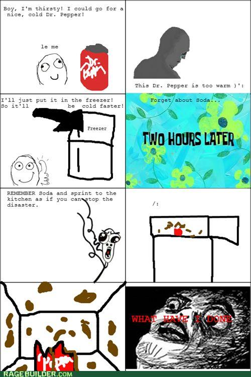 Funny Meme Comic Jokes : Funny rage comics freezer meme pinterest