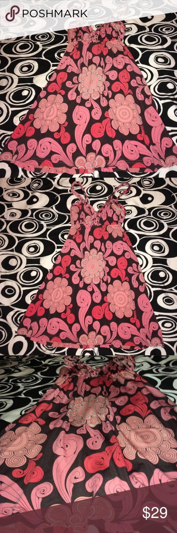 🌸NWT🌸JUDITH MARCH SUNDRESS IN HIPPIE 70's COLORS 🌸GREAT DRESS FROM JUDITH MARCH FOR A GREAT DEAL🌸EXCELLENT CHOICE FOR SUMMER CONCERTS, THE BEACH, DINNER & DRINKS....PAIR WITH SOME CHUNKY SANDALS & LEATHER AND PEARL JEWELRY TO ROCK OUT YOUR HIPPIE BEACH BABE VIB🌸X~SMALL🌸 Judith March Dresses Mini