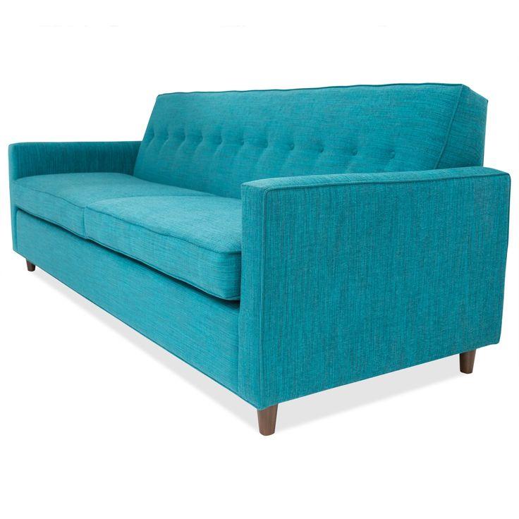 Turquoise Blue Sleeper Sofa
