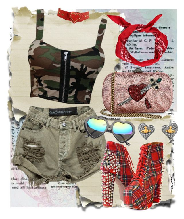 """""""notitle"""" by mumachan on Polyvore featuring ファッション, Gucci, Jeffrey Campbell, Boohoo と Moschino"""
